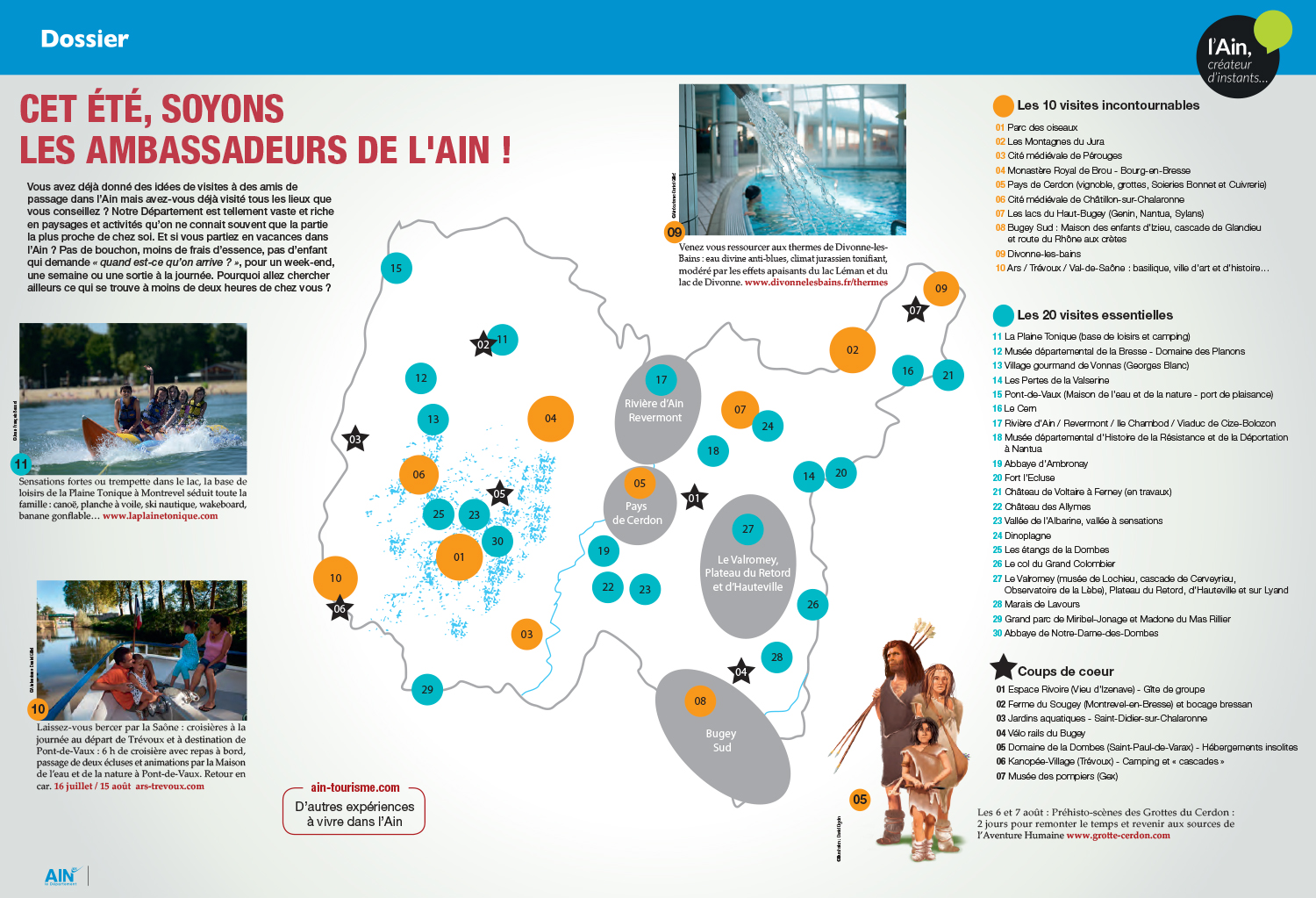 carte tourismeBD